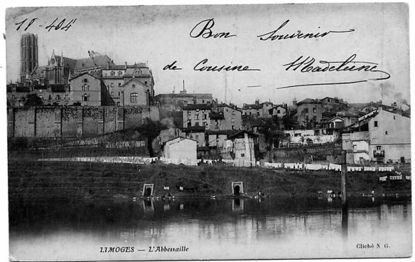 Abbessaille Limoges autrefois