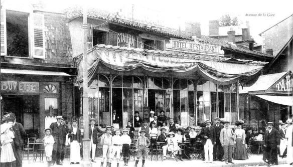 Hotel restaurant avenue de la gare Limoges autrefois