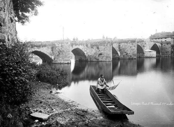 Pont Saint Martial Limoges autrefois