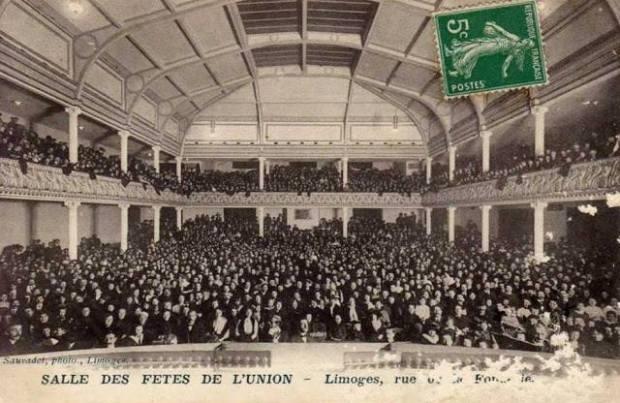Salle des fetes de l union Limoges autrefois